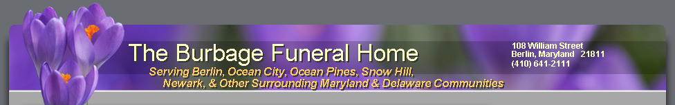 Burbage Funeral Home